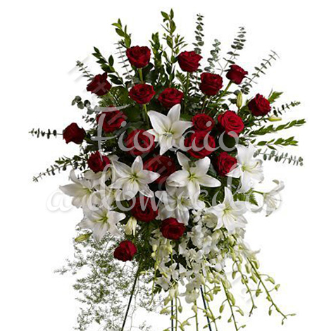 cuscino-funebre-rose-e-gigli