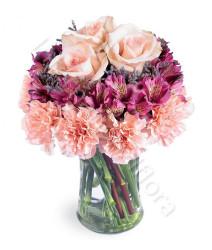 bouquet-di-garofani-alstroemeria-e-rose