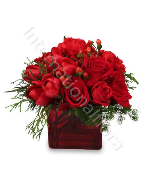 bouquet-natale-rose-e-tulipani