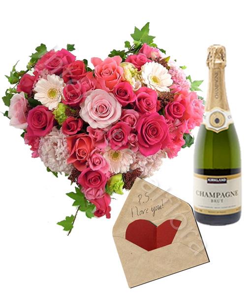 cuore-di-rose-e-gerbere-con-biglietto-e-champagne