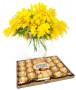 bouquet-di-mimosa-ferrero-rocher