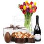 bouquet-di-tulipani-con-colomba-uovo-e-spumante