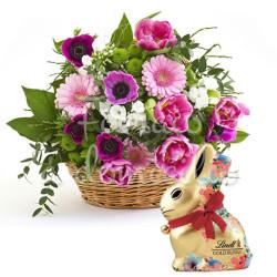 cesto-di-tulipani-con-coniglietto