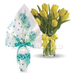 tulipani-gialli-con-uovo-celeste