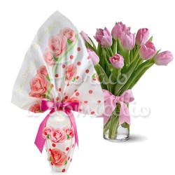 tulipani-rosa-con-uovo-rosa